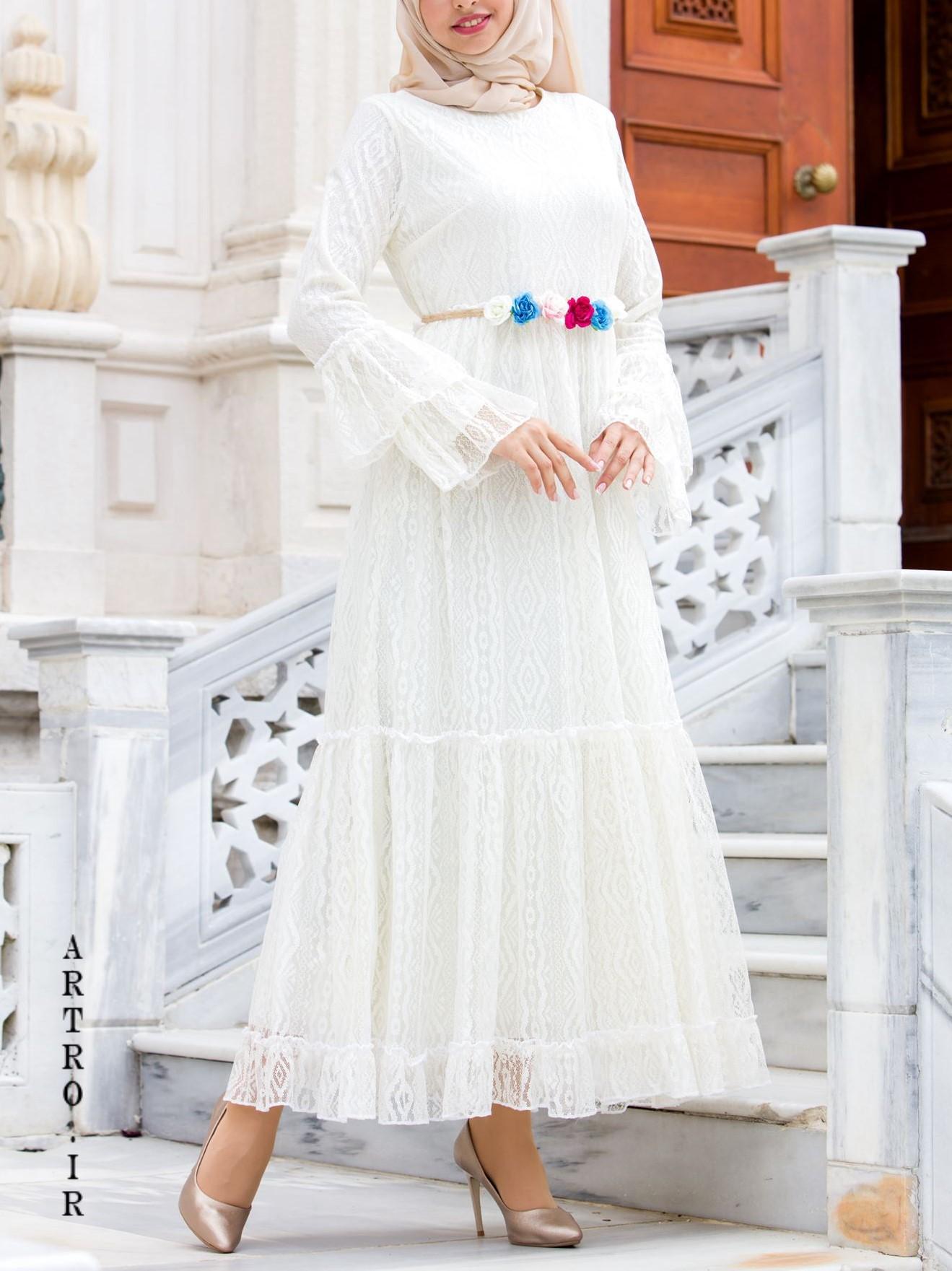 مدل لباس عروس باحجاب و شیک