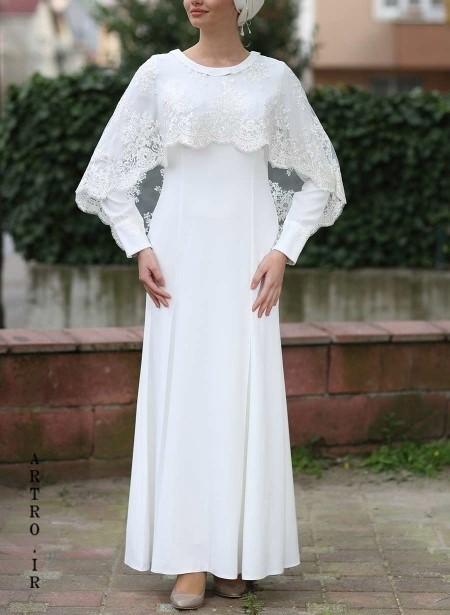جدیدترین مدل لباس عروس با حجاب