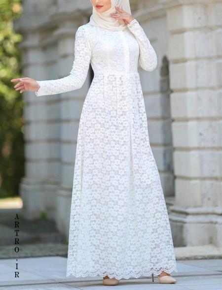مدل لباس عروسی باحجاب