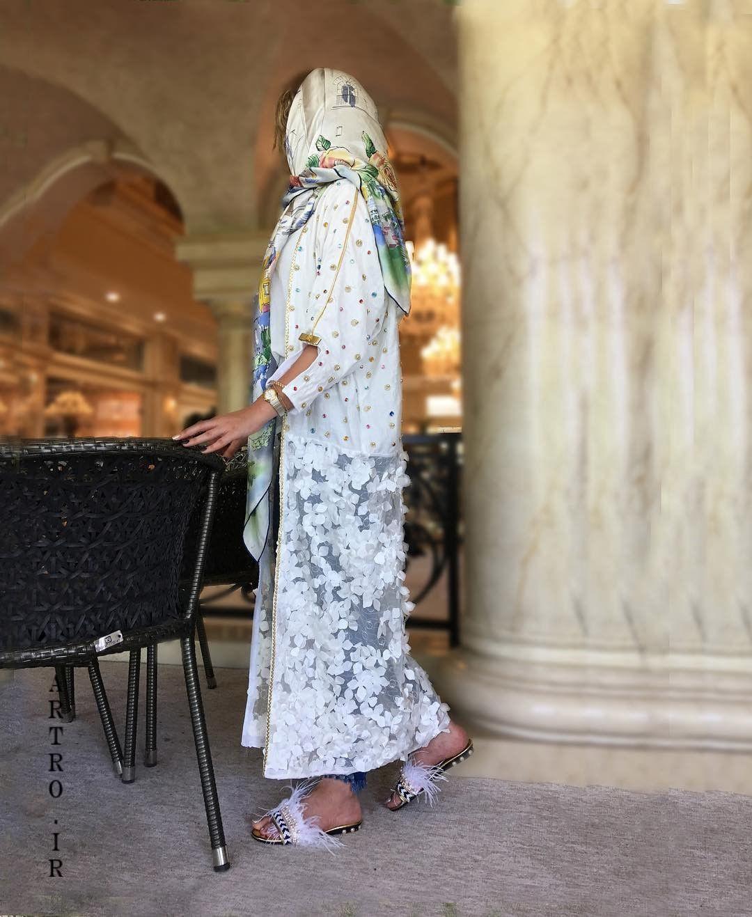 مدل مانتو بلند جلوباز تابستانی 2019