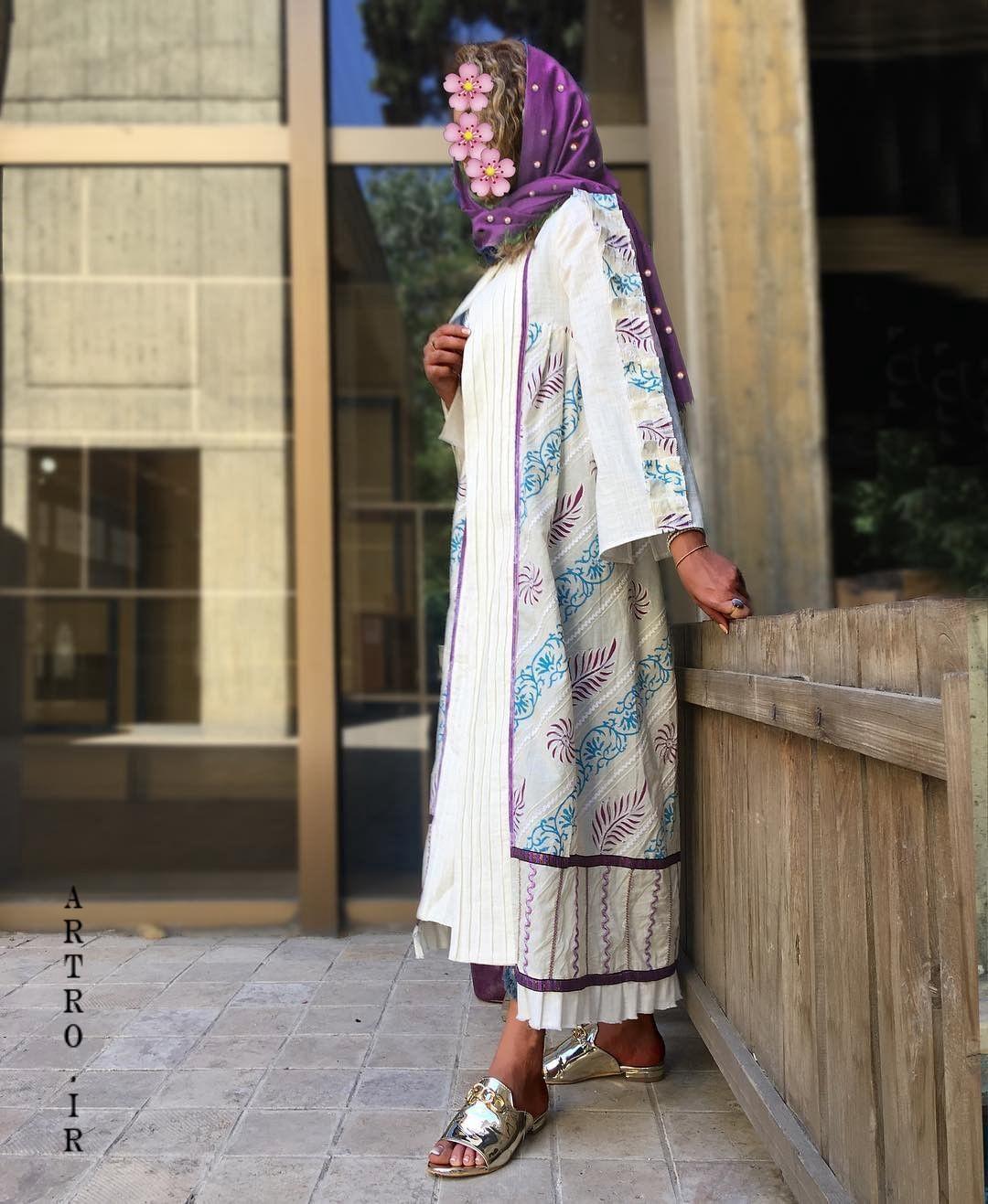 مدل مانتو بهاری ایرانی