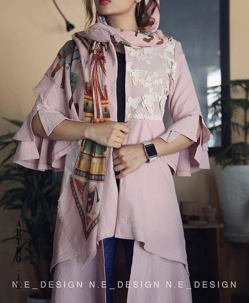 عکس مدل مانتو عید