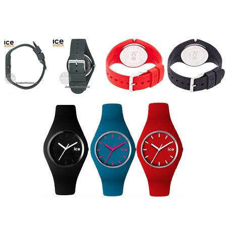 خرید ساعت مچی ژله ای رنگی آیس در رنگ های متنوع زیبا