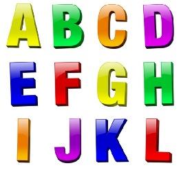 حروف الفبای انگلیسی