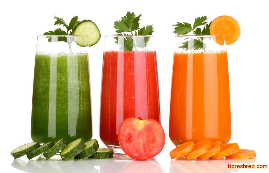 فواید فوق العاده آب سبزیجات