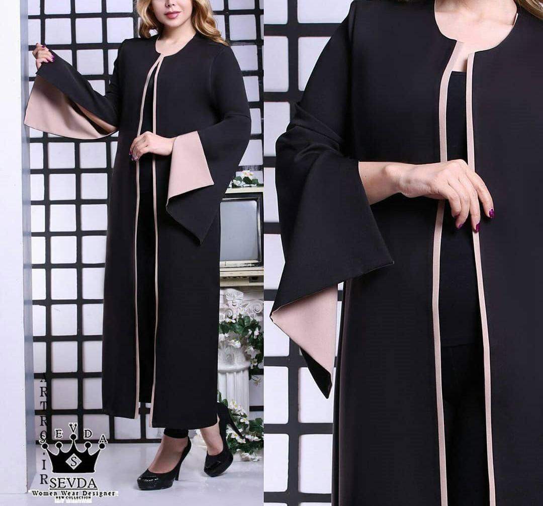 مدل مانتو بلند شیک برای عید