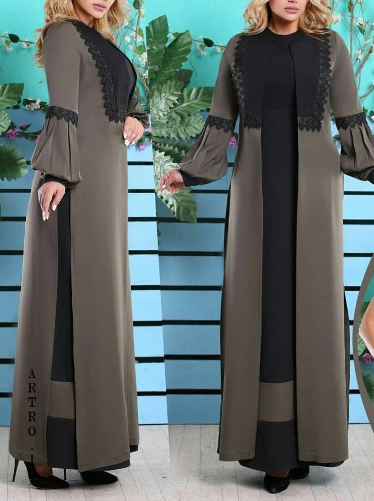 مدل مانتوهای بلند برای عید 98