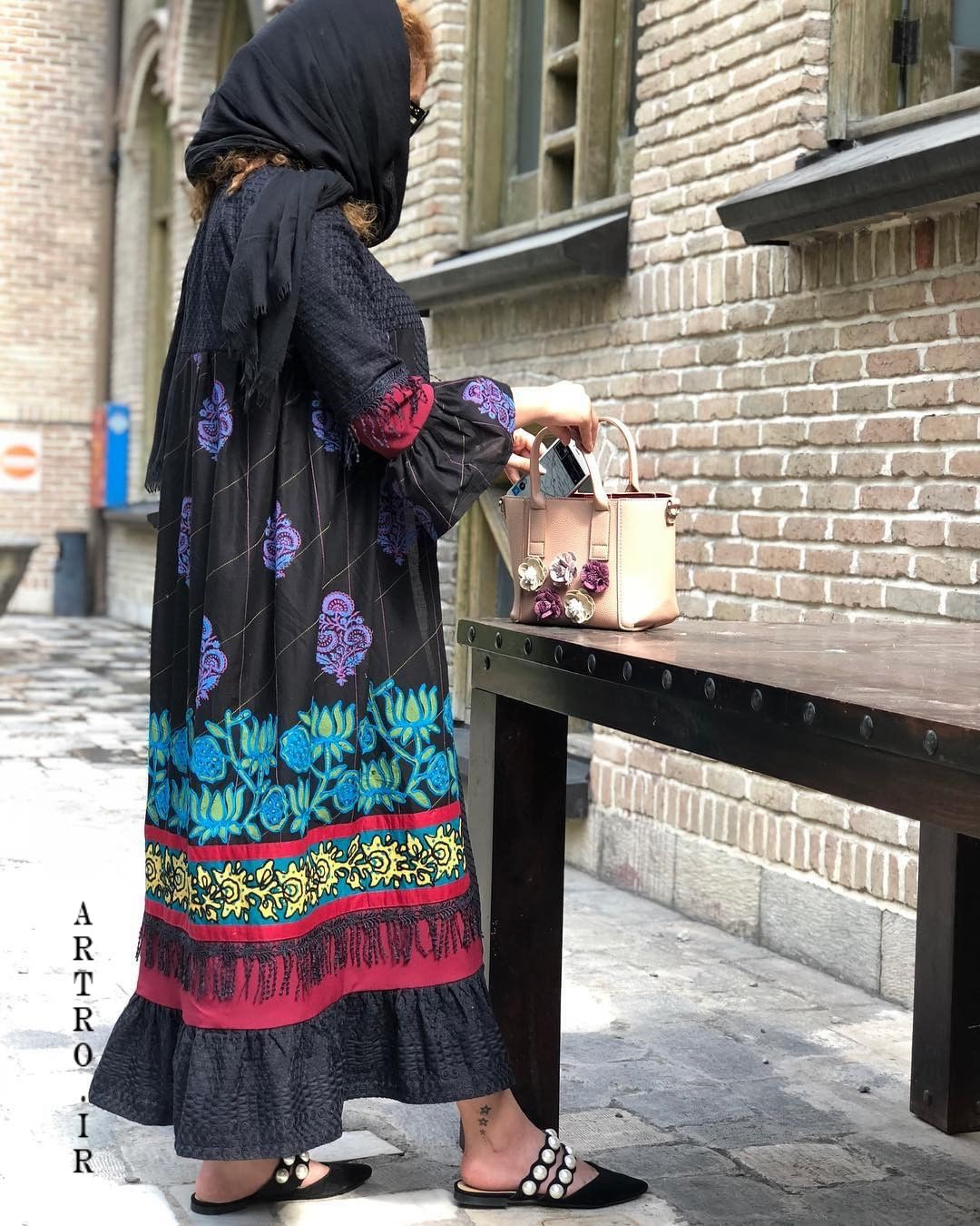 مدل مانتو تابستانی تهران 98