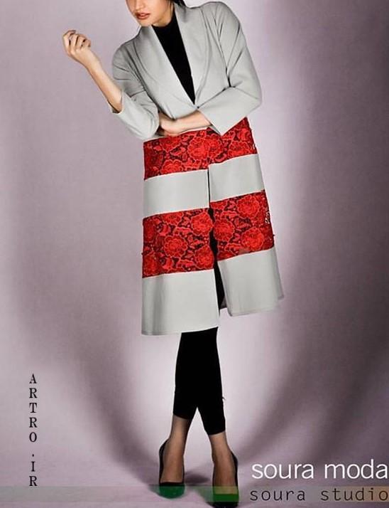 مدل مانتو کتی بلند