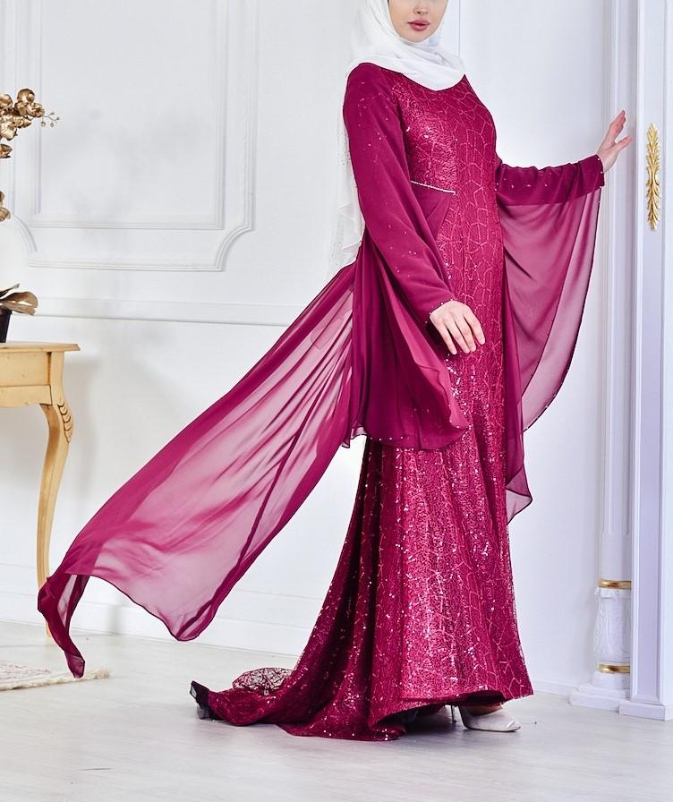 مدل لباس مجلسی بلند دخترانه اینستا