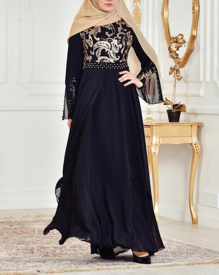 مدل لباس مجلسی بلند زنانه