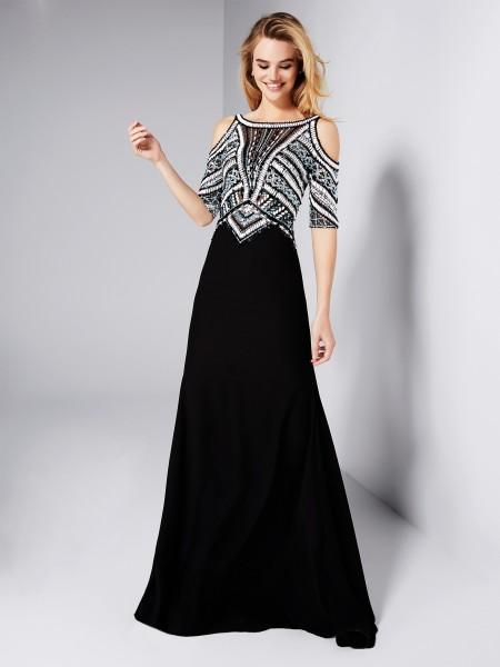 مدل لباس مجلسی بلند دخترانه ، آستین دار، پوشیده ، مخمل ترک 2019