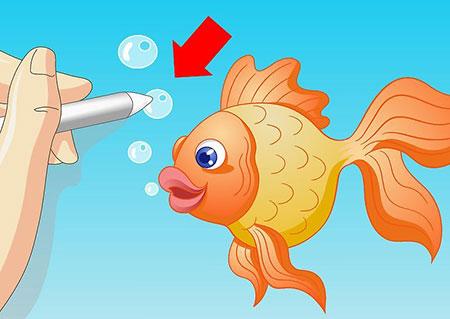 نقاشی ماهی,عکس نقاشی ماهی,نقاشی ماهی کارتونی