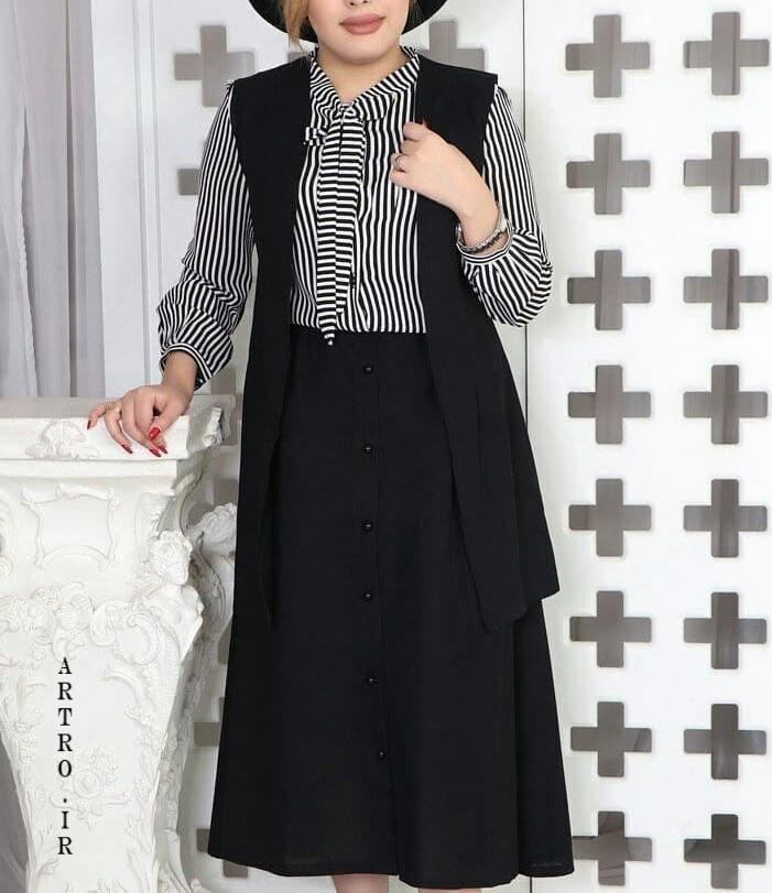 مدل مانتو سارافنی بلند