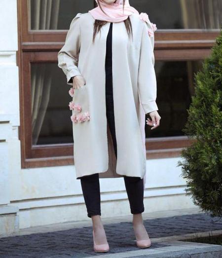 مانتوهای شیک جلو باز بلند,جدیدترین مدل مانتو