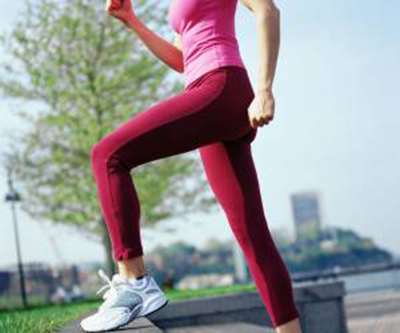 خوش فرم کردن پا با ورزش و تغذیه