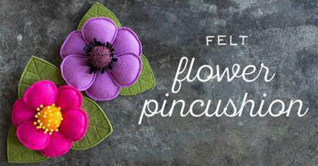 آموزش مرحله ای ساخت گل نمدی, درست کردن گل نمدی