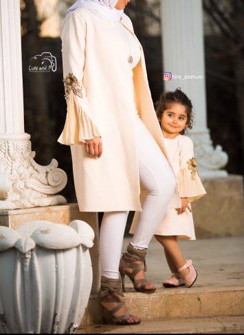جدیدترین مدل مانتو ست مادر و دختر
