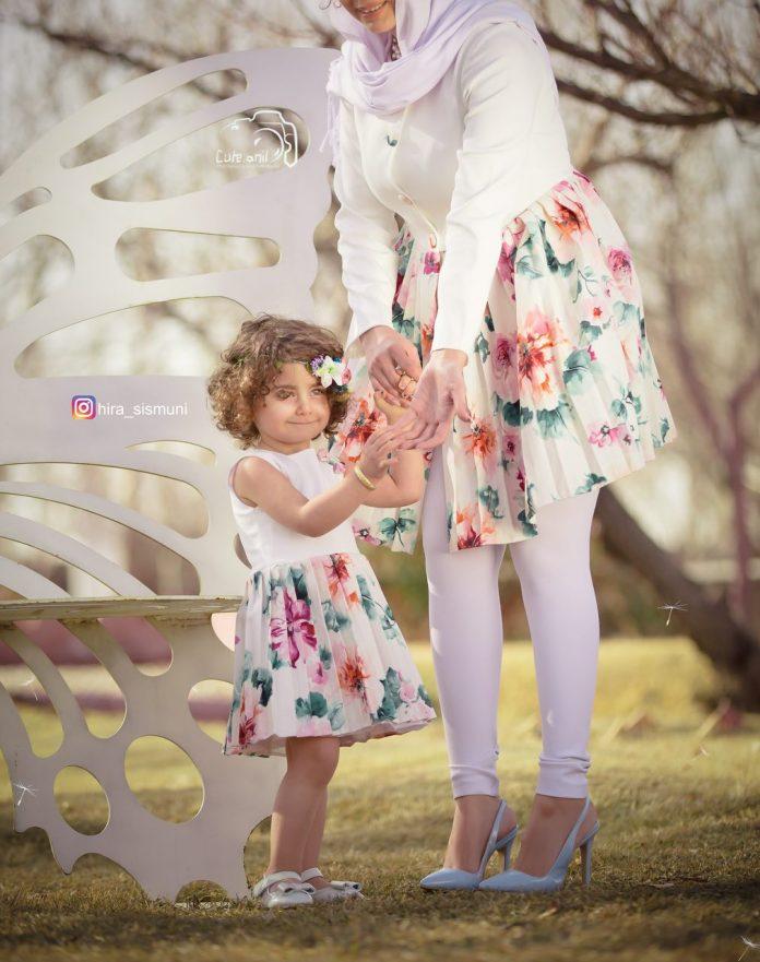 ست مدل مانتو مادر و بچه سال 98