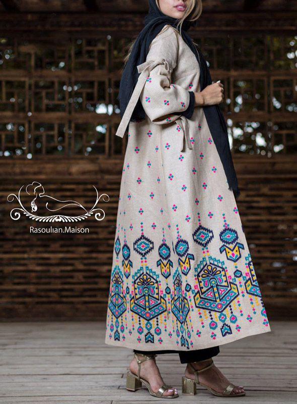 عکس مدل مانتو عید دخترانه 98