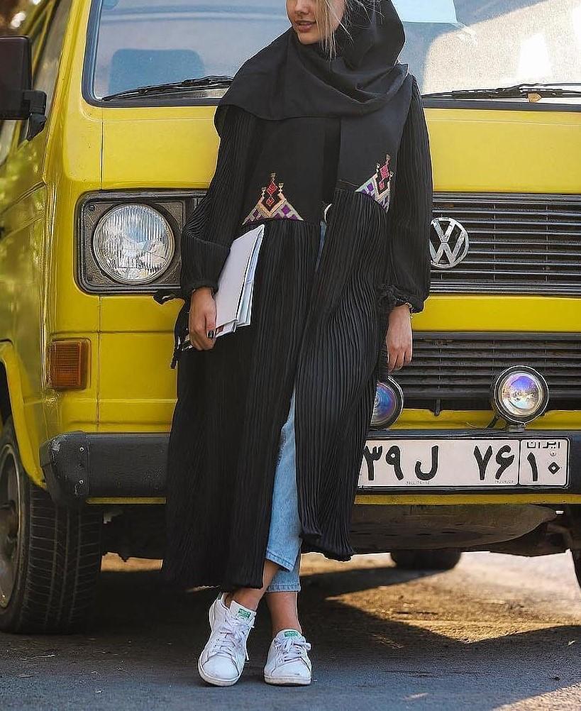 مدل مانتو دانشجویی در اینستاگرام
