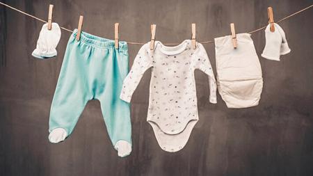 روش شست و شوی لباس نوزاد