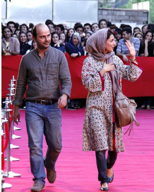 مدل مانتو بازیگران در جشنواره