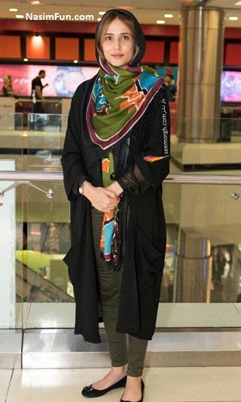 مدل مانتو بازیگران تهران