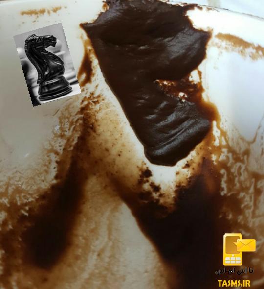 تفسیر و معنی شکل مهره های شطرنج در فال قهوه