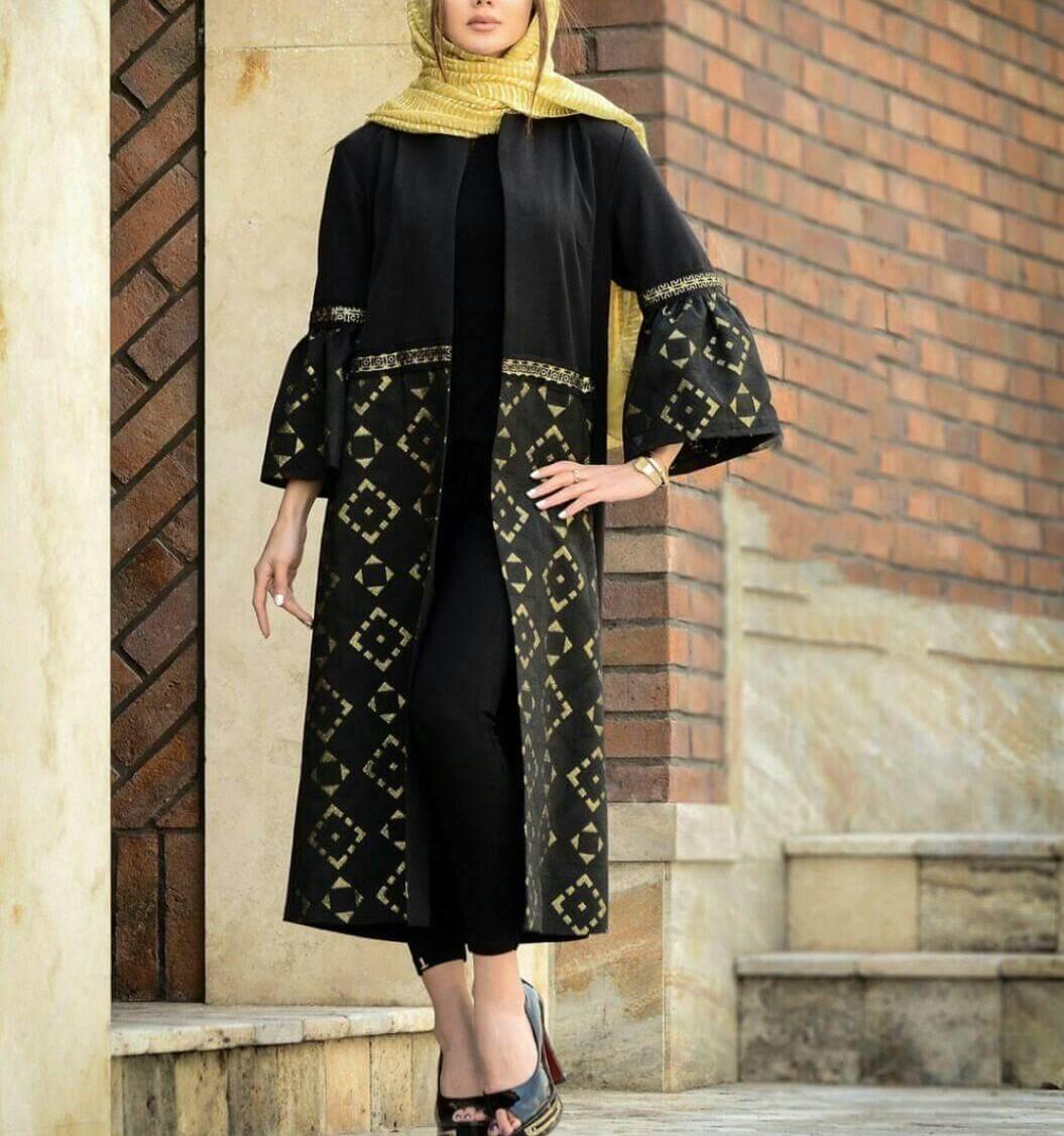مدل مانتو های دخترانه عید ۹۷