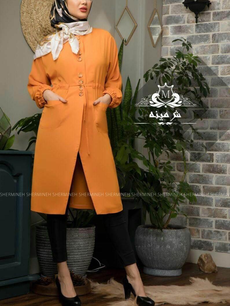 مدل های مانتوی عید