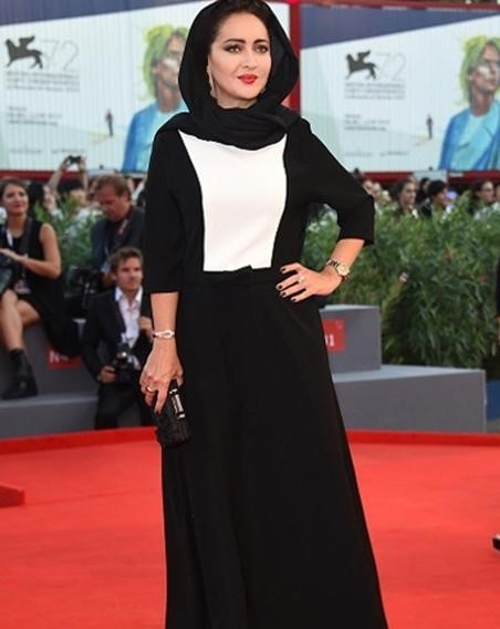 مدل مانتو بازیگران ایرانی در اینستا