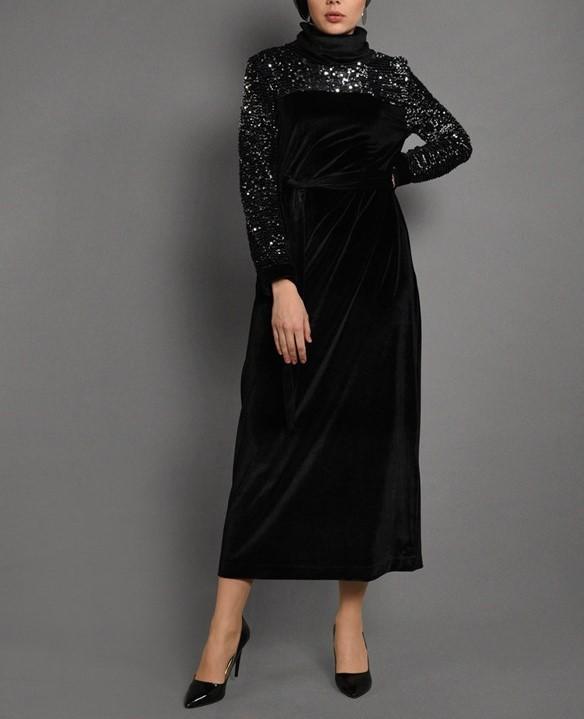مدل لباس مجلسی دخترانه بلند اسپرت