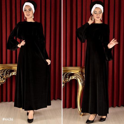 مدل لباس مجلسی بلند زنانه با گیپور