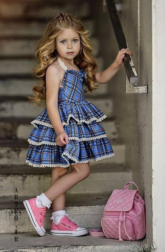 مدل لباس عید بچه گانه دختر