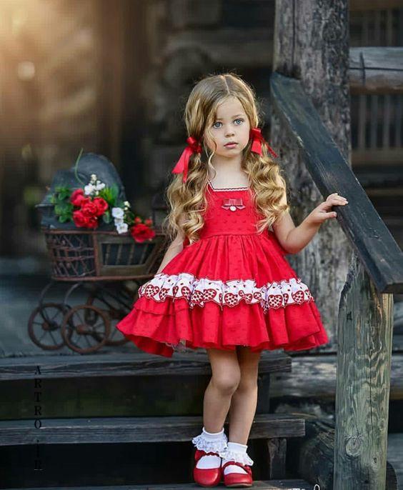 مدل لباس دختر بچه تابستانه