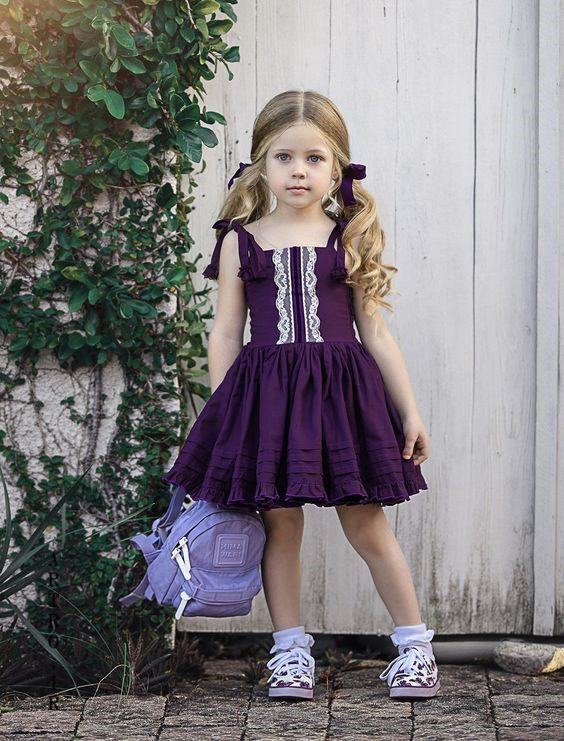 مدل لباس دختر بچه بهاری