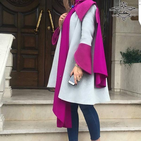 مدل مانتو بهاری دخترانه جدید