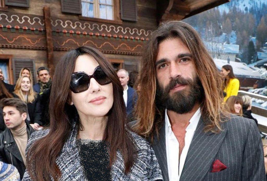 عکس مونیکا بلوچی 54 ساله و نامزد 36 ساله اش