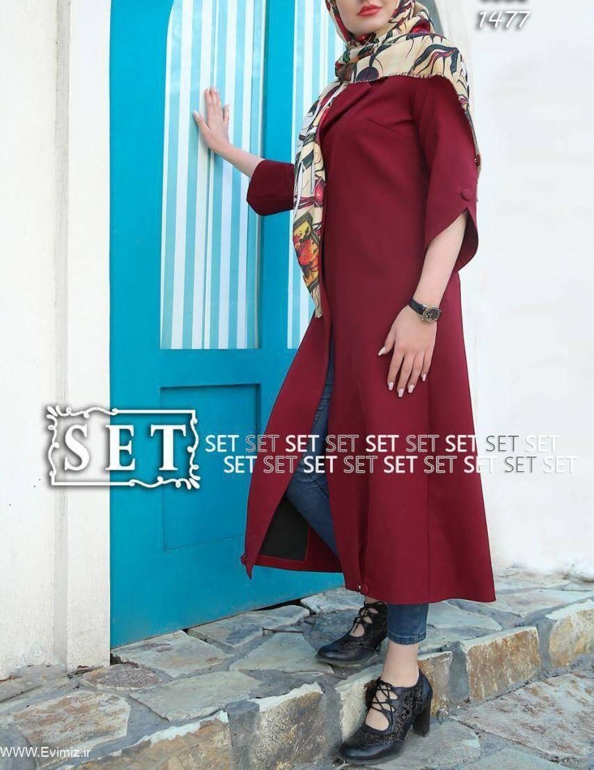 عکس مدل مانتو عید سال 98