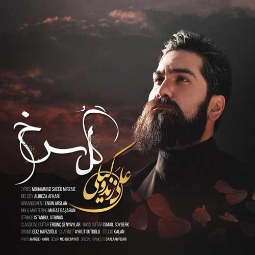نسخه بیکلام آهنگ گل سرخ از علی زندوکیلی