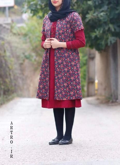 مدل مانتو سنتی پوشیده