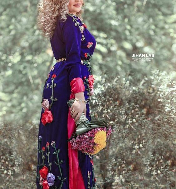 مدل لباس کردی برای زنان