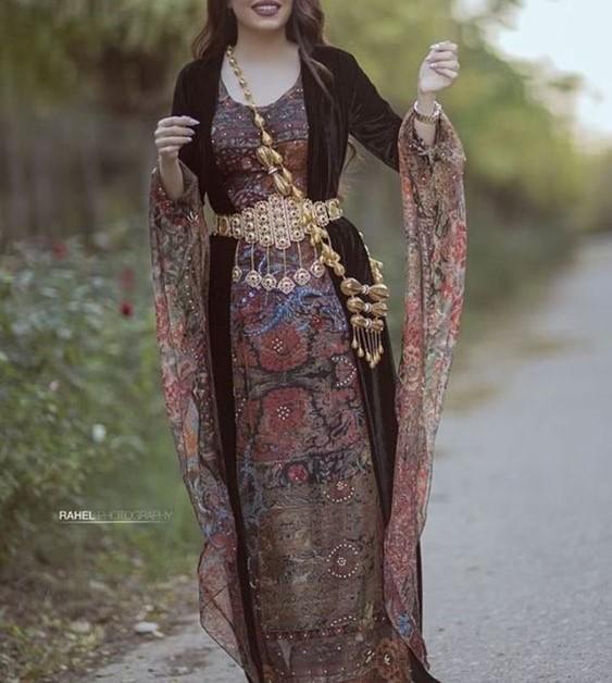 مدل لباس کردی زنانه در اینستاگرام