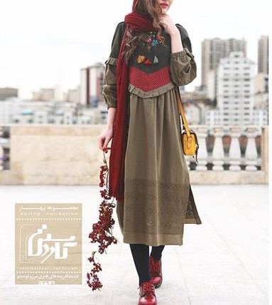 مدل مانتو سنتی تابستانه دخترانه