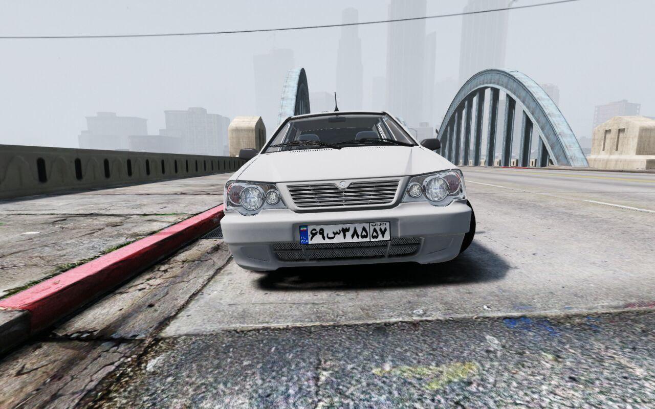 پراید 111 برای GTA V