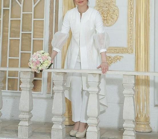 مدل مانتو و لباس عروس 2019