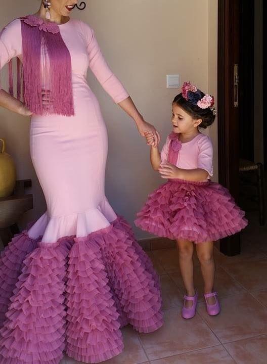 ست لباس مادر و دختر مجلسی بلند