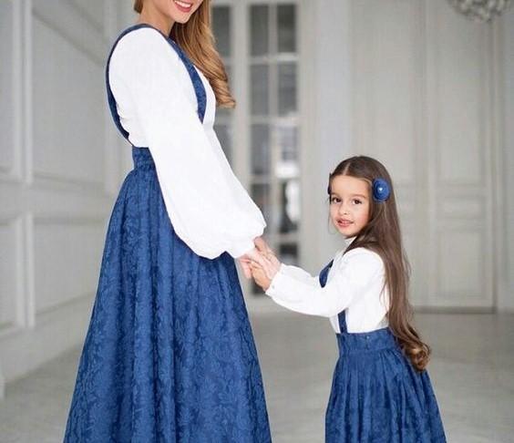 ست لباس مادر و دختر مجلسی