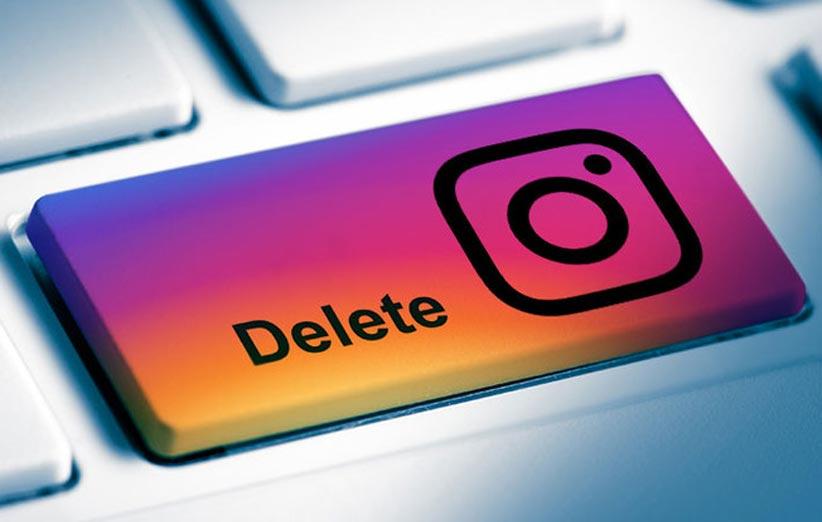 آموزش حذف سریع اکانت اینستاگرام